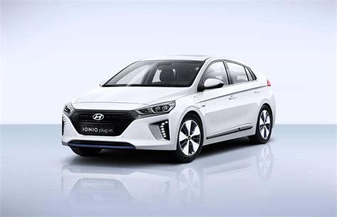 Hyundai A hyundai ioniq electric ioniq in at the geneva motor