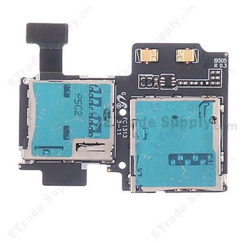 Samsung Card Reader 2 samsung galaxy s4 gt i9505 sim card and sd card reader contact etrade supply