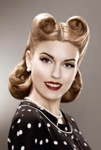 hair 40s 50s hairstyles short pin up hairstyles