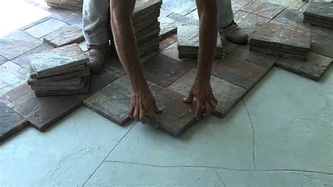 tuscan paving stone com paver installation over concrete youtube