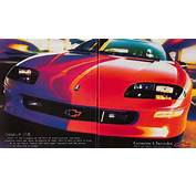The Few Ads Of 1990s 4th Gen Camaro  Chevys Only