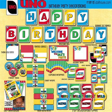 printable uno directions uno party printable collection birthdays and birthday