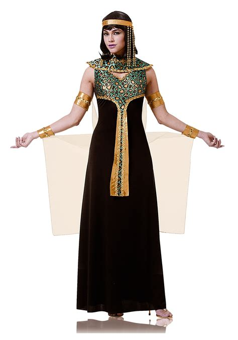 black costume black and teal cleopatra costume