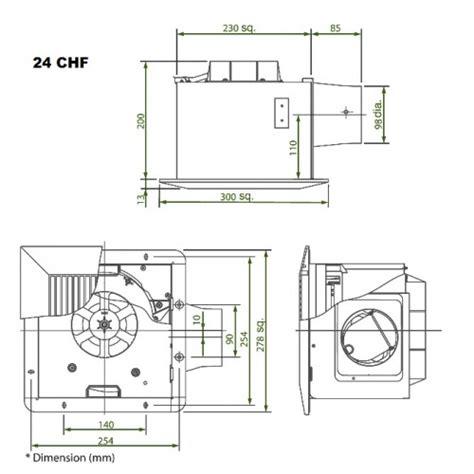 kdk bathroom fan kdk ventilation fan ceiling mount 24cdf 24chf