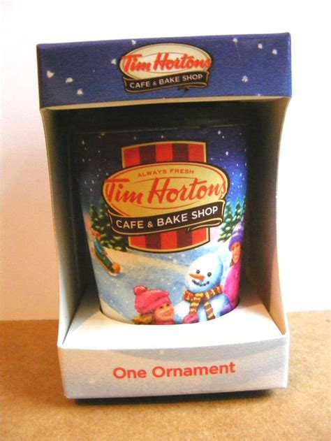 tim hortons 2013 quot to go quot cup christmas ornament support