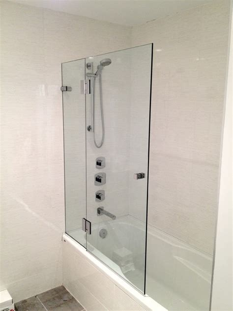 bathtub enclosures glass shower enclosures contemporary bathroom vancouver