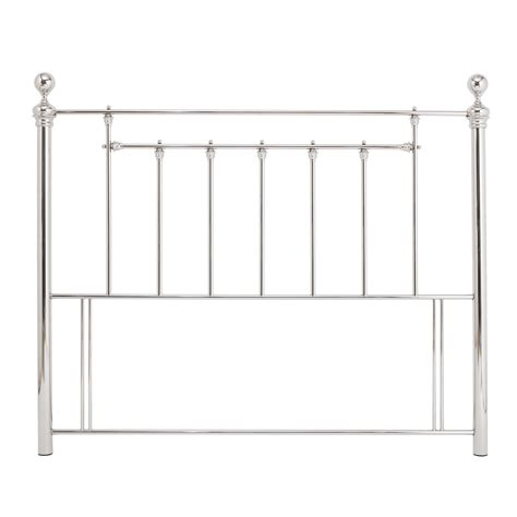 Nickel Headboards by Benjamin Nickel Metal Headboard Up To 60 Rrp Next Day Select Day Delivery