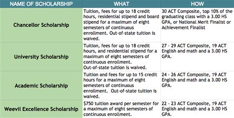 Do Colleges Offer More Than Tuition Mba Scholarships by Top 10 Merit Based Scholarship Schools