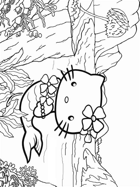coloring pages hello mermaid hello mermaid coloring pages free printable hello
