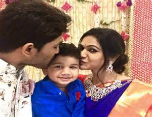 allu arjun and family check out allu arjun s family pic from srija s wedding