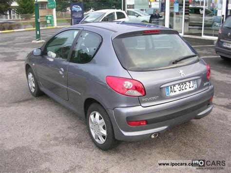 2009 peugeot 206 1 4 hdi trendy 3p car photo and specs