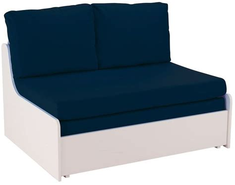 double chair bed sofa buy stompa blue double sofa bed online cfs uk