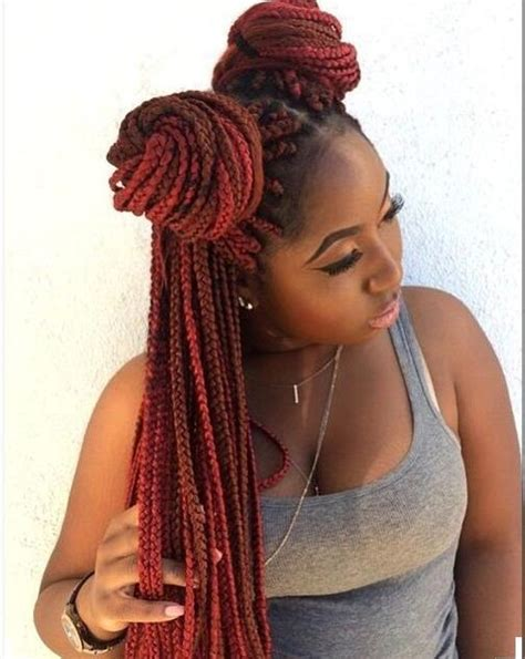 Dyed Tips Of Box Braids | dyed tips of box braids 24 quot tf1449 80g dip dyed