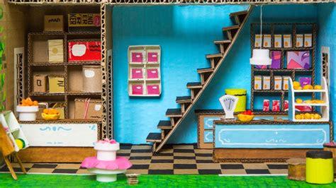 shop   cardboard house part