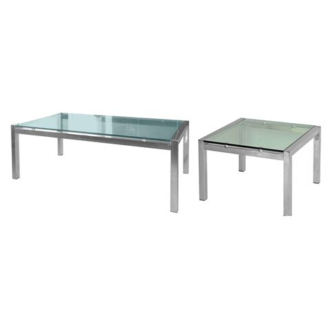 soto glass coffee table office way