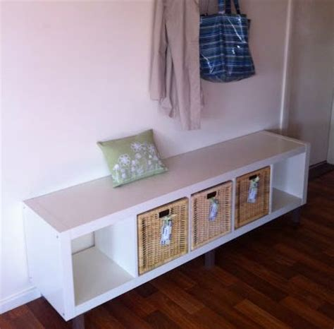 ikea expedit bench ikea expedit hall bench 4 legs on a quot 5x1 quot expedit for