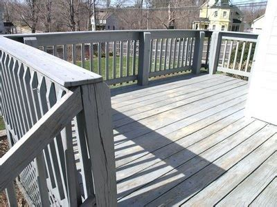 refinishing   rough pressure treated wood deck