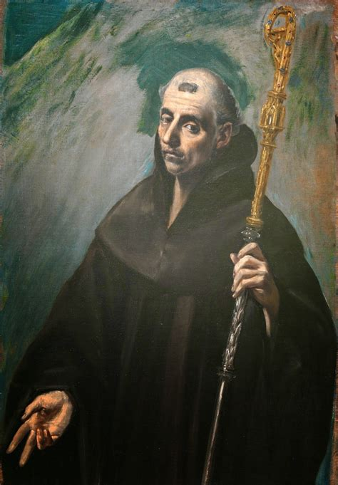 st benedict idle speculations benedict of nursia by el greco