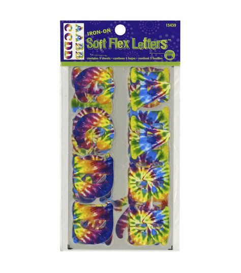 dritz iron on printable fabric dritz soft flex iron on letters tie dye jo ann