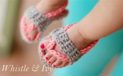 free crochet pattern for baby sandals baby sandals free crochet patterns allcrafts free crafts