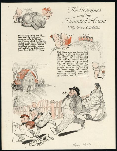 haunted kewpie doll illustrated quot the kewpies and the haunted house quot by