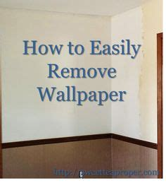 easy remove wallpaper for apartments home how to on pinterest crown moldings baseboards and