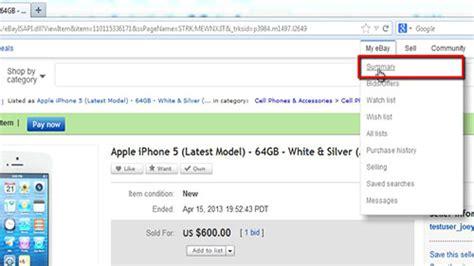 ebay cancel order how to cancel ebay order howtech
