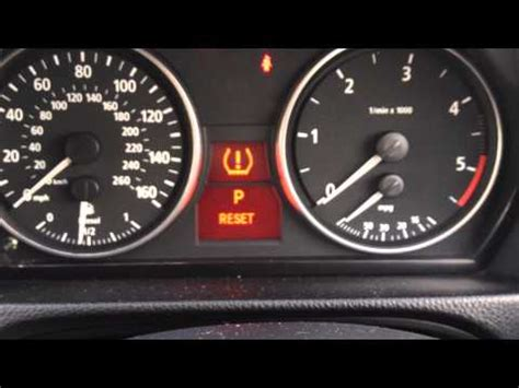 bmw 328i tire pressure reset reset tyre pressure bmw idrive doovi
