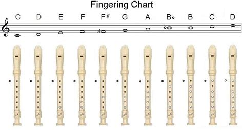 recorder finger chart recorder chart miss tracy s notes