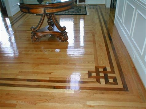 Hardwood Floor Border Design Ideas Custom Hardwood Floor Inlays Ballantyne Nc Accent Wood Floors Inc
