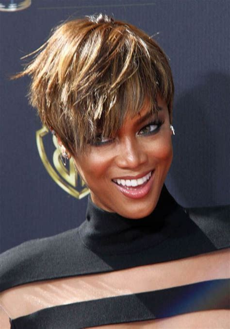 tyra banks just got a super short and super pretty pixie 1000 images about hair beauty that i love on pinterest
