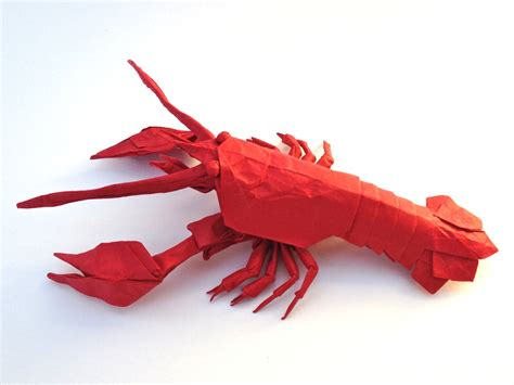 3d origami lobster car interior design