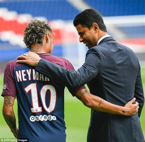 barcelona owner psg owner rejects neymar fee critics go and have coffee