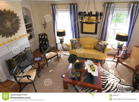 nicely decorated living rooms well decorated living room stock photo image 3382910