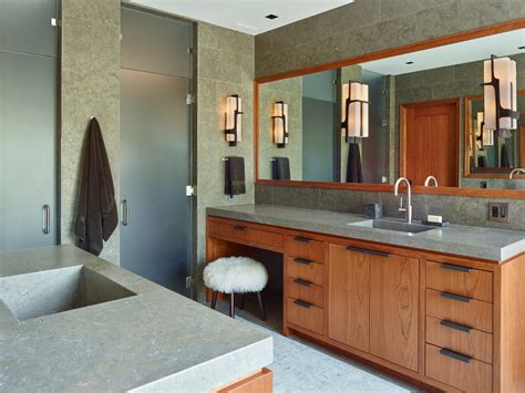 Bathroom Vanity With Seating Area Vanity Seating Area Bathroom Traditional With Bench