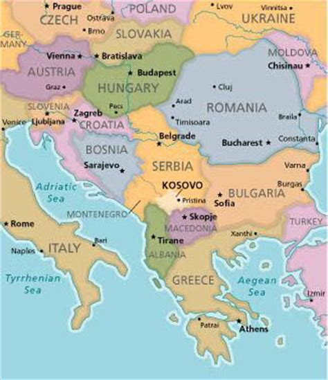 kosovo on the world map read my mind a look at kosovo and albania