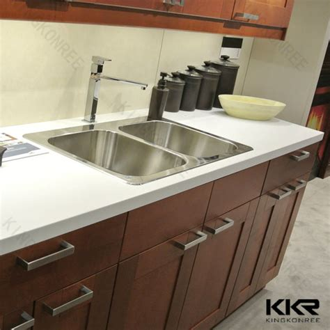 one piece bathroom and countertop kitchen sinks one piece kitchen and countertop