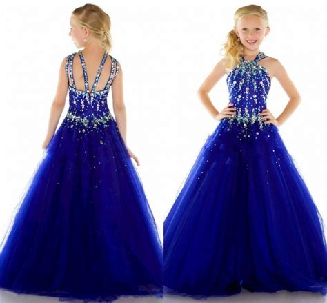 cheap childrens dresses halter cheap pageant dress gowns 2015