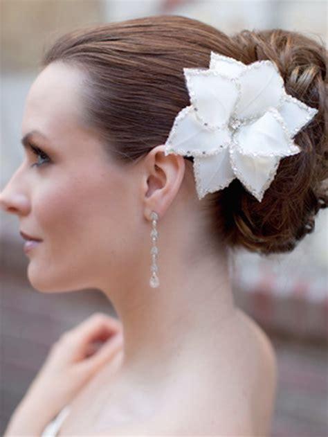 flower wedding hair clip wedding flower hair
