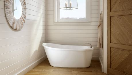 soaking bathtubs for small spaces a shapely soaking tub for small spaces fine homebuilding