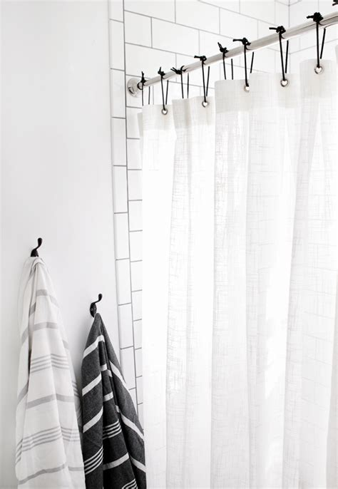diy curtain rings diy leather shower curtain rings 187 the merrythought