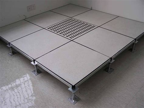 Steel Raised Floor by Ceramic Tile Steel Infilled Cement Access Floor Panel
