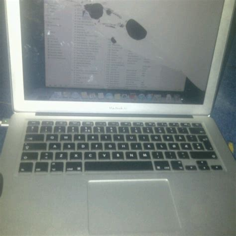 Macbook Air November apple macbook air 13 3 inch with screen 80k in delta technology market nigeria