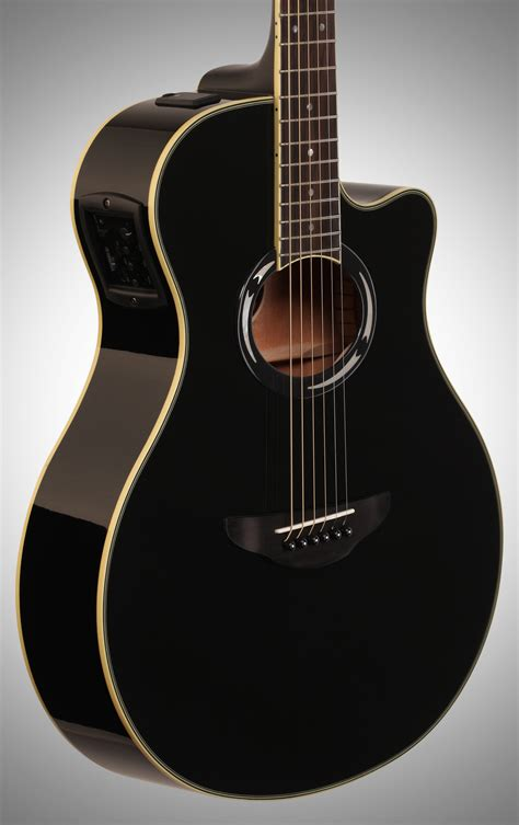 Gitar Akustik Elektrik 2 yamaha apx500iii thinline acoustic electric guitar black