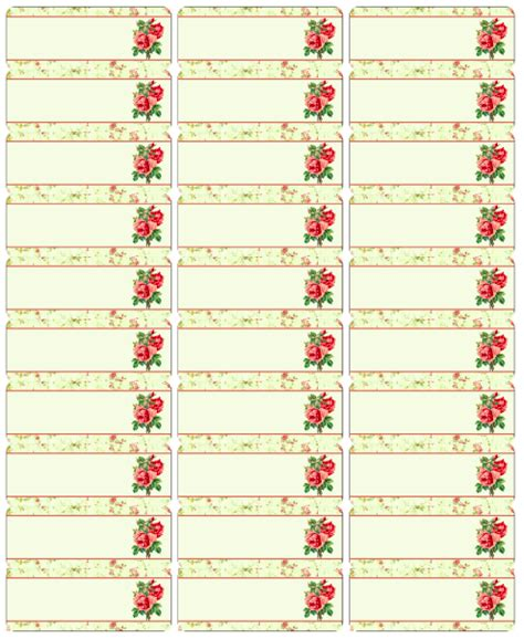 Free Vintage Rose Label Printables By Rachel Birdsell Worldlabel Blog Adhesive Label Templates
