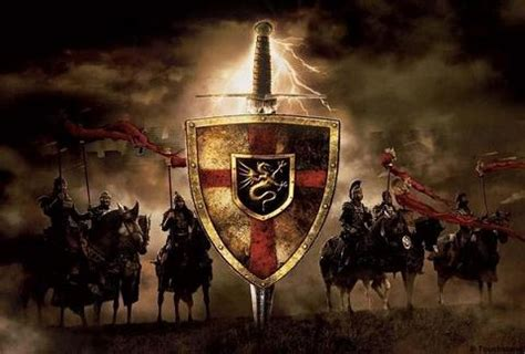 Knights Of The Table King Arthur by Legendary Tales Rhapsody Of