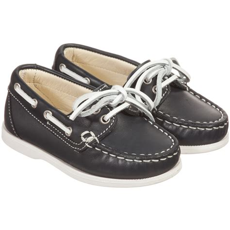 boys navy loafers il gufo boys navy blue white leather loafers