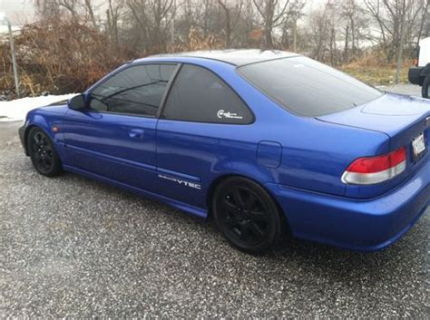 Two Door Honda Civic by Buy Used 1999 Honda Civic Si Coupe 2 Door 1 6l In