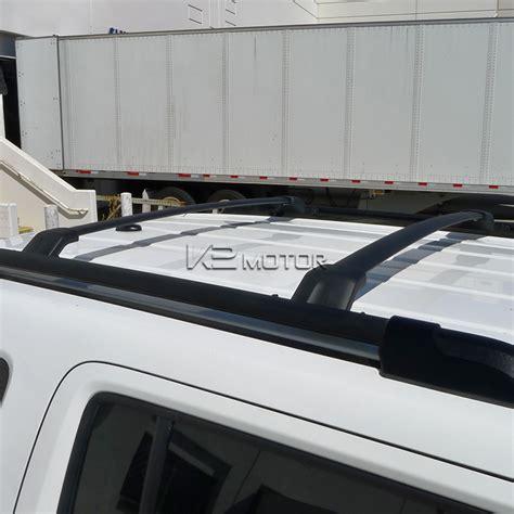 Aluminum Roof Rack by 2009 2015 Honda Pilot Black Aluminum Roof Rack