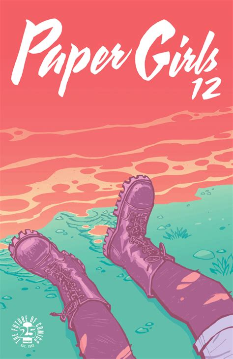 paper girls n 12 8491465731 chuck s comic of the day paper girls 12